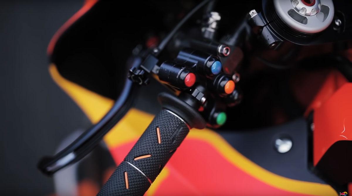 KTM Factory Racing MotoGP Bike